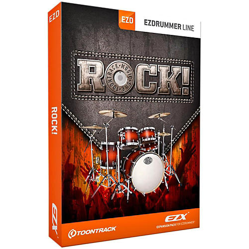 Toontrack Rock! EZX Software Download
