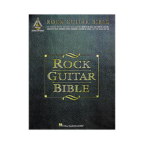 Hal Leonard Rock Guitar Bible Tab Book