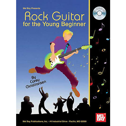 Mel Bay Rock Guitar For The Young Beginner Book and CD-thumbnail
