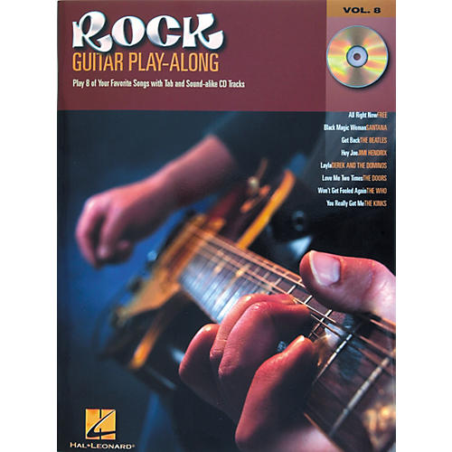 Hal Leonard Rock Guitar Play Along Series Book with CD-thumbnail
