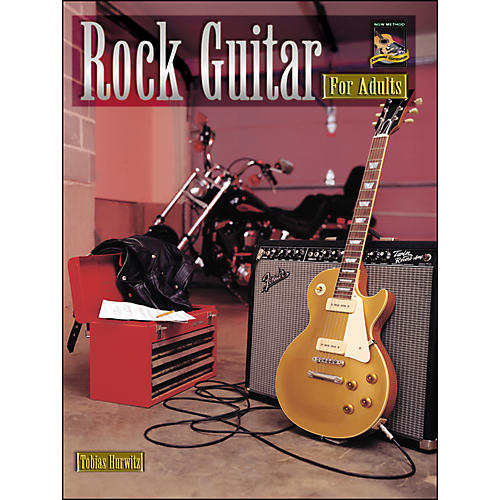 Alfred Rock Guitar for Adults (Book/CD)-thumbnail