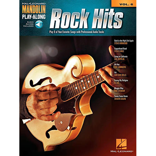 Hal Leonard Rock Hits - Mandolin Play-Along Volume 6 Book/Online Audio-thumbnail