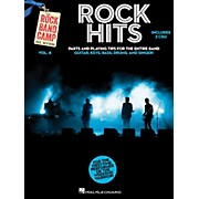 Hal Leonard Rock Hits - Rock Band Camp Vol. 4 (Book/2-CD Pack) Vocal, Guitar, Keys, Bass, Drums
