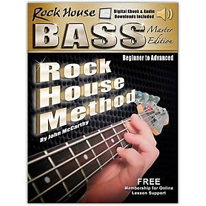 Hal Leonard Rock House Bass Guitar Master Edition Begining - Advanced Compl... by Hal Leonard