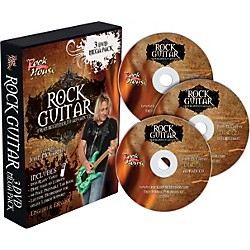 Rock House Learn Rock Guitar: Beginner, Intermediate, and Advanced (3-DVD package) (14037714)