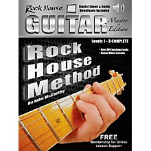 Rock House Rock House Method Guitar Master Edition Levels 1 - 3 Complete Book With Audio/Video Online