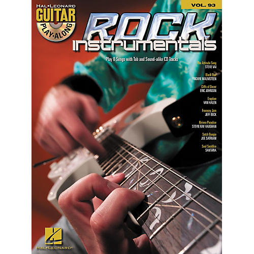 Hal Leonard Rock Instrumentals - Guitar Play-Along Volume 93 (Book/CD)
