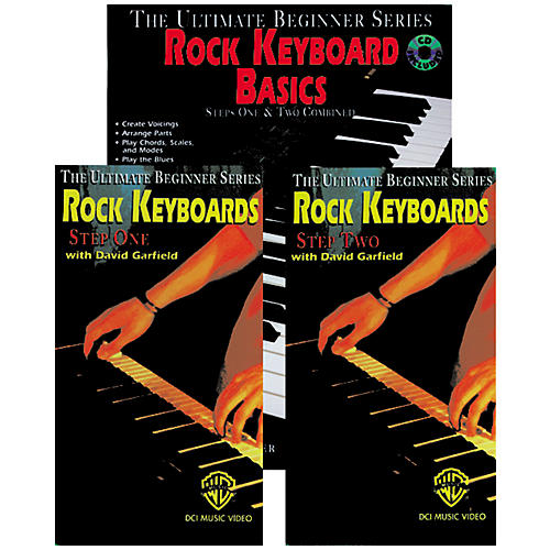 Alfred Rock Keyboard Basics Mega Pak Book/CD/Video-thumbnail