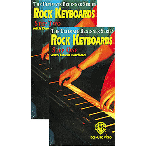 Alfred Rock Keyboards Step 1 & 2 Ultimate Beginner Series Video Package (VHS)