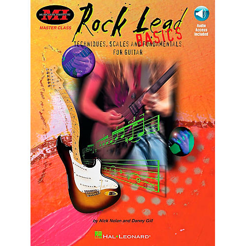 Hal Leonard Rock Lead Basics (Book/CD)