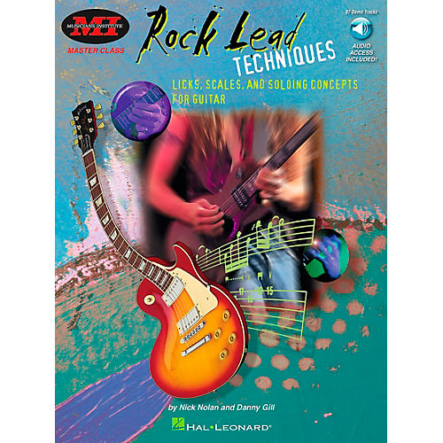 Hal Leonard Rock Lead Techniques Book/CD Package-thumbnail