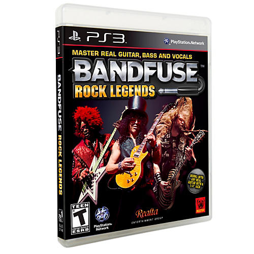BandFuse Rock Legends Artist Pack for PS3