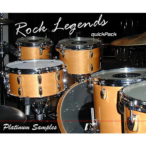 Platinum Samples Rock Legends QuickPack for BFD