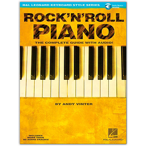 Hal Leonard Rock 'N' Roll Piano - Hal Leonard Keyboard Style Series (Book/Online Audio)