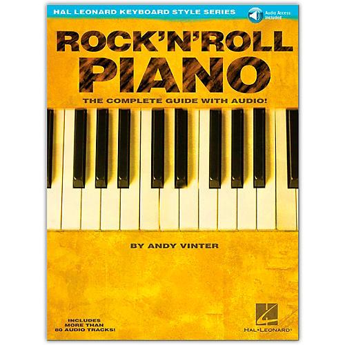 Hal Leonard Rock 'N' Roll Piano Book/Online Audio - Hal Leonard Keyboard Style Series-thumbnail