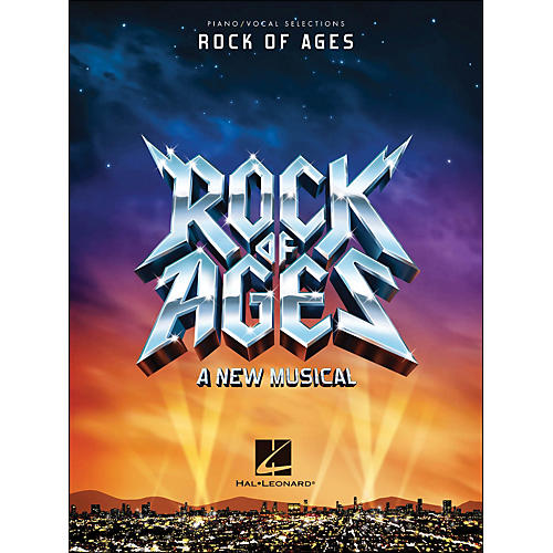 Hal Leonard Rock Of Ages - Piano/Vocal Selections arranged for piano, vocal, and guitar (P/V/G)-thumbnail