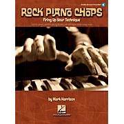 Hal Leonard Rock Piano Chops Firing Up Your Technique Book/CD