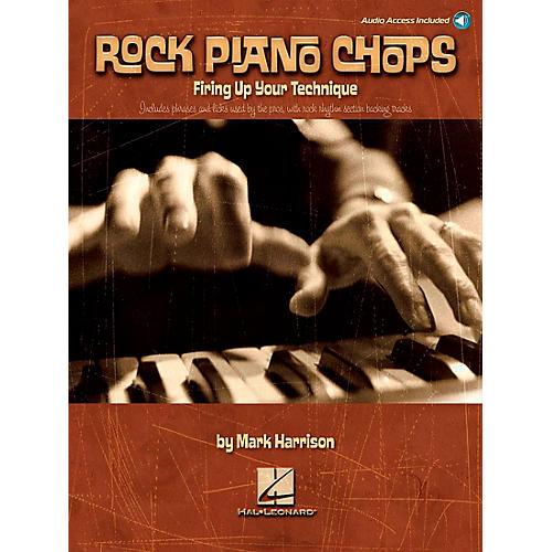 Hal Leonard Rock Piano Chops Firing Up Your Technique Book/CD-thumbnail