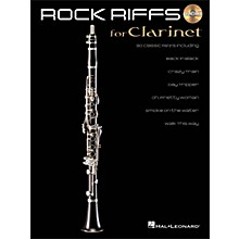 Hal Leonard Rock Riffs for Clarinet Book/CD