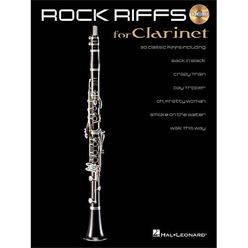 Hal Leonard Rock Riffs for Clarinet Book/CD-thumbnail