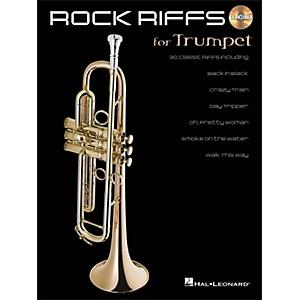 Hal Leonard Rock Riffs for Trumpet Book/CD by Hal Leonard