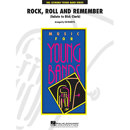 Hal Leonard Rock, Roll And Remember (Salute To Dick Clark) - Young Concert Band Series Level 3-thumbnail