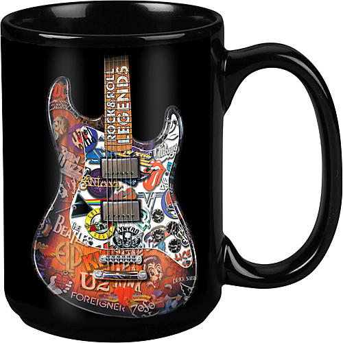 Taboo Rock & Roll Legends Black Mug 15 oz