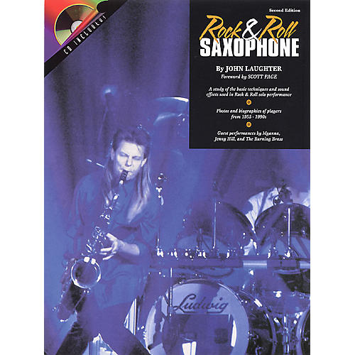Hal Leonard Rock & Roll Sax (Book/CD Pack) Instrumental Series Softcover with CD