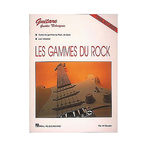 Hal Leonard Rock Scales For Guitar Book