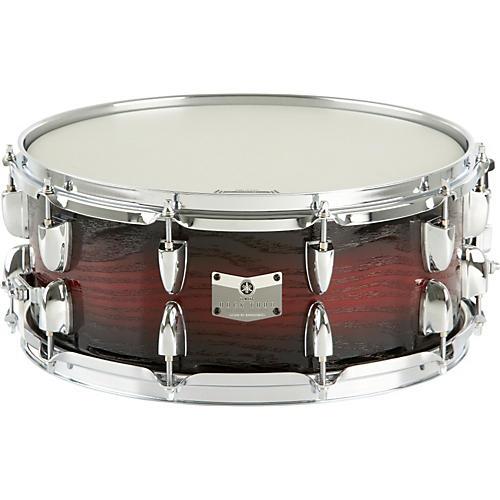 Yamaha Rock Tour Snare Drum 14 x 6 Textured Red Sunburst
