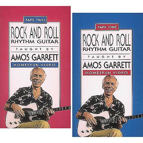 Homespun Rock and Roll Rhythm Guitar 2-Video Set (VHS)-thumbnail