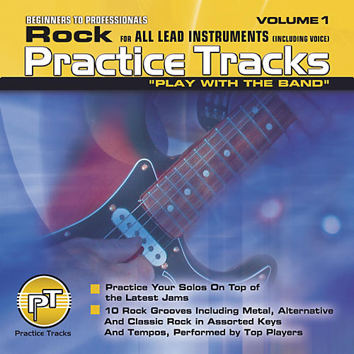 Practice Tracks Rock for All Lead Instruments (CD)