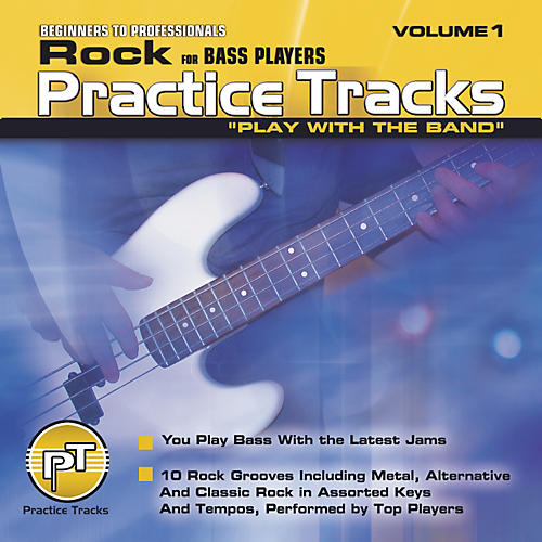 Practice Tracks Rock for Bass Players (CD)-thumbnail