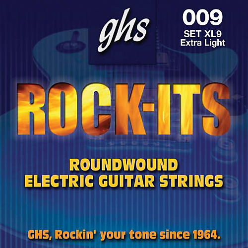 GHS Rock-it Extra Light Electric Guitar Strings
