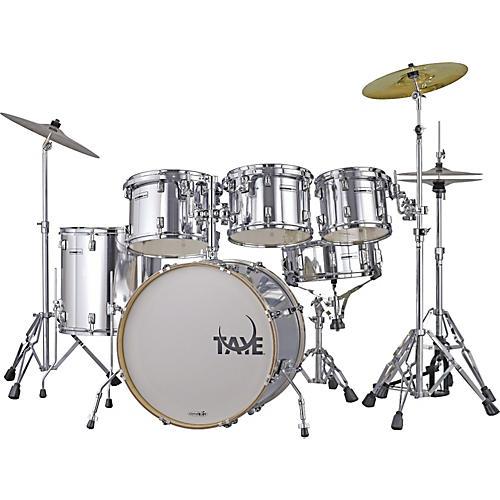 Taye Drums RockPro RP622C Limited Edition 6-Piece Drum Set Chrome