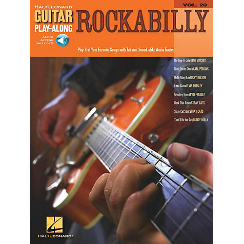 Hal Leonard Rockabilly Guitar Play-Along Series Volume 20 Book with CD-thumbnail