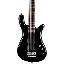 Rockbass Streamer Standard 5-String Electric Bass Guitar Black HP