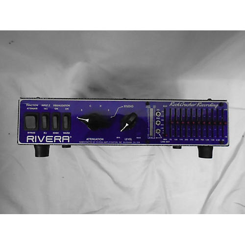 Rivera Rockcrusher Recording Attenuator Effect Pedal