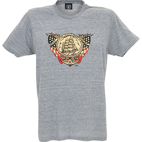 Sailor Jerry Rocked in the Cradle of the Deep Men's T-Shirt