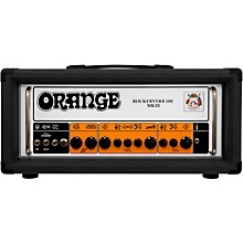 Orange Amplifiers Rockerverb 100 MKIII 100W Tube Guitar Amp Head Level 1 Black
