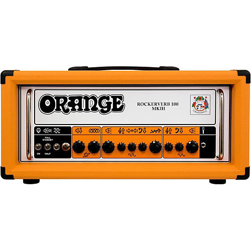 Orange Amplifiers Rockerverb 100 MKIII 100W Tube Guitar Amp Head-thumbnail