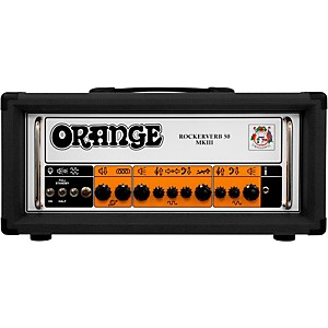 Orange Amplifiers Rockerverb 50 MKIII 50 Watt Tube Guitar Amp Head by Orange Amplifiers