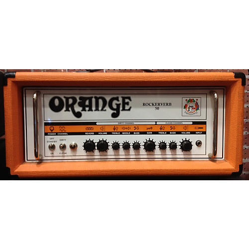 Orange Amplifiers Rockerverb MKII Tube Guitar Amp Head