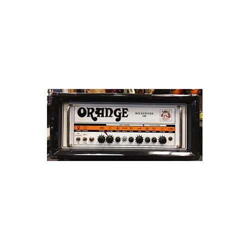 Orange Amplifiers Rockerverb RK100HTC 100W Tube Guitar Amp Head-thumbnail