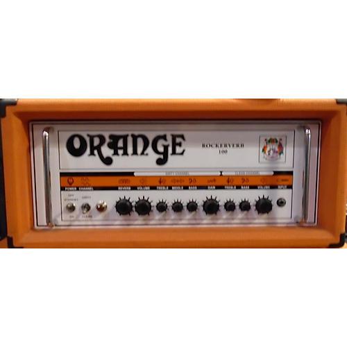 Orange Amplifiers Rockerverb RK100HTC 100W Tube Guitar Amp Head-thumbnail