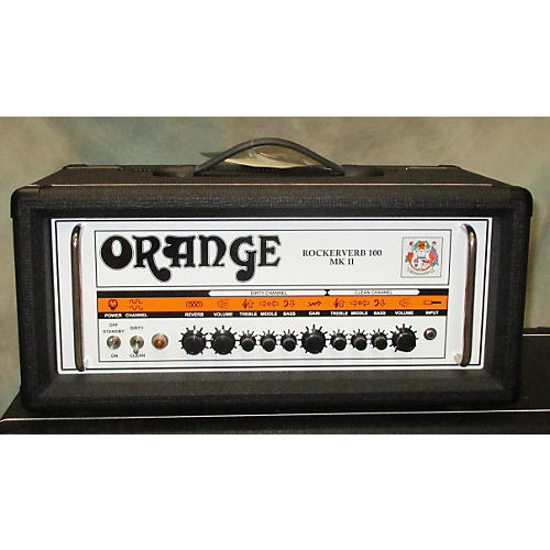 Orange Amplifiers Rockerverb RK100HTC MKII 100W Black Tube Guitar Amp Head