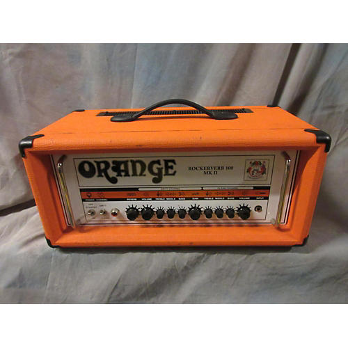 Orange Amplifiers Rockerverb RK100HTC MKII 100W Tube Guitar Amp Head-thumbnail
