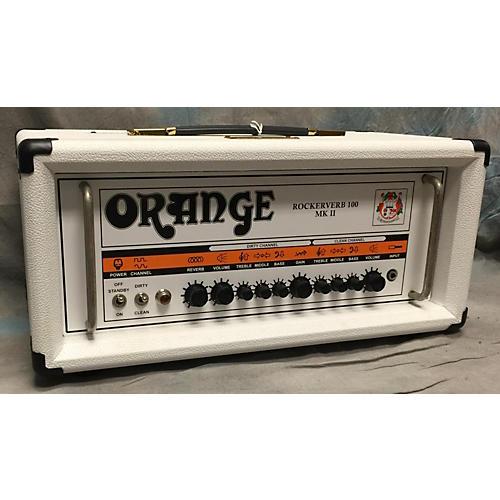 Orange Amplifiers Rockerverb RK100HTC MKII 100W Tube Guitar Amp Head-thumbnail