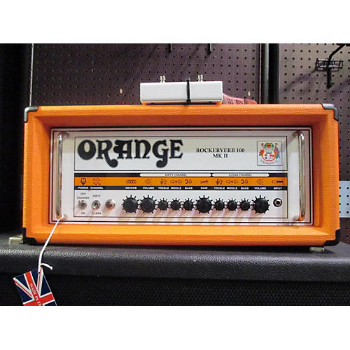 Orange Amplifiers Rockerverb RK100HTC MKII 100W Tube Guitar Amp Head