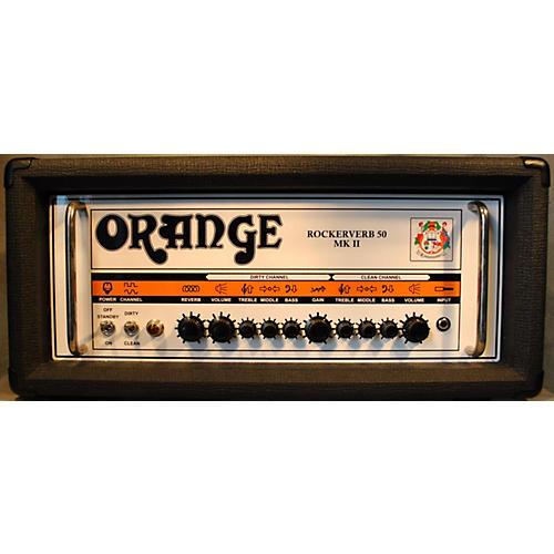 Orange Amplifiers Rockerverb RK50HBK MKII 50W Tube Guitar Amp Head